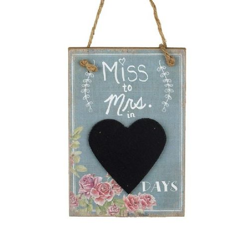 Heaven Sends - Miss to Mrs Countdown